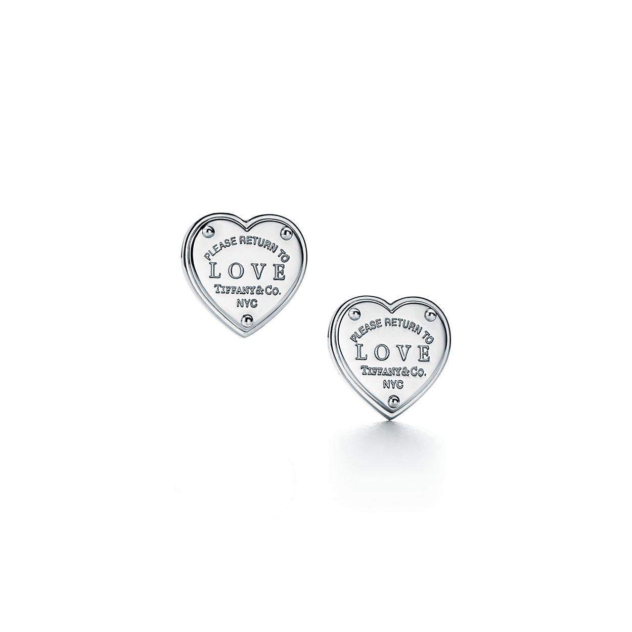 Return To Tiffany Love Earrings