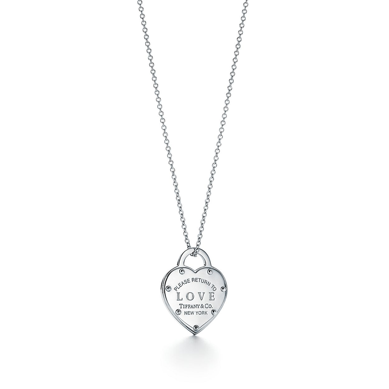 Return to Tiffany® Sterling Silver Love Heart Pendant  736c1f471662