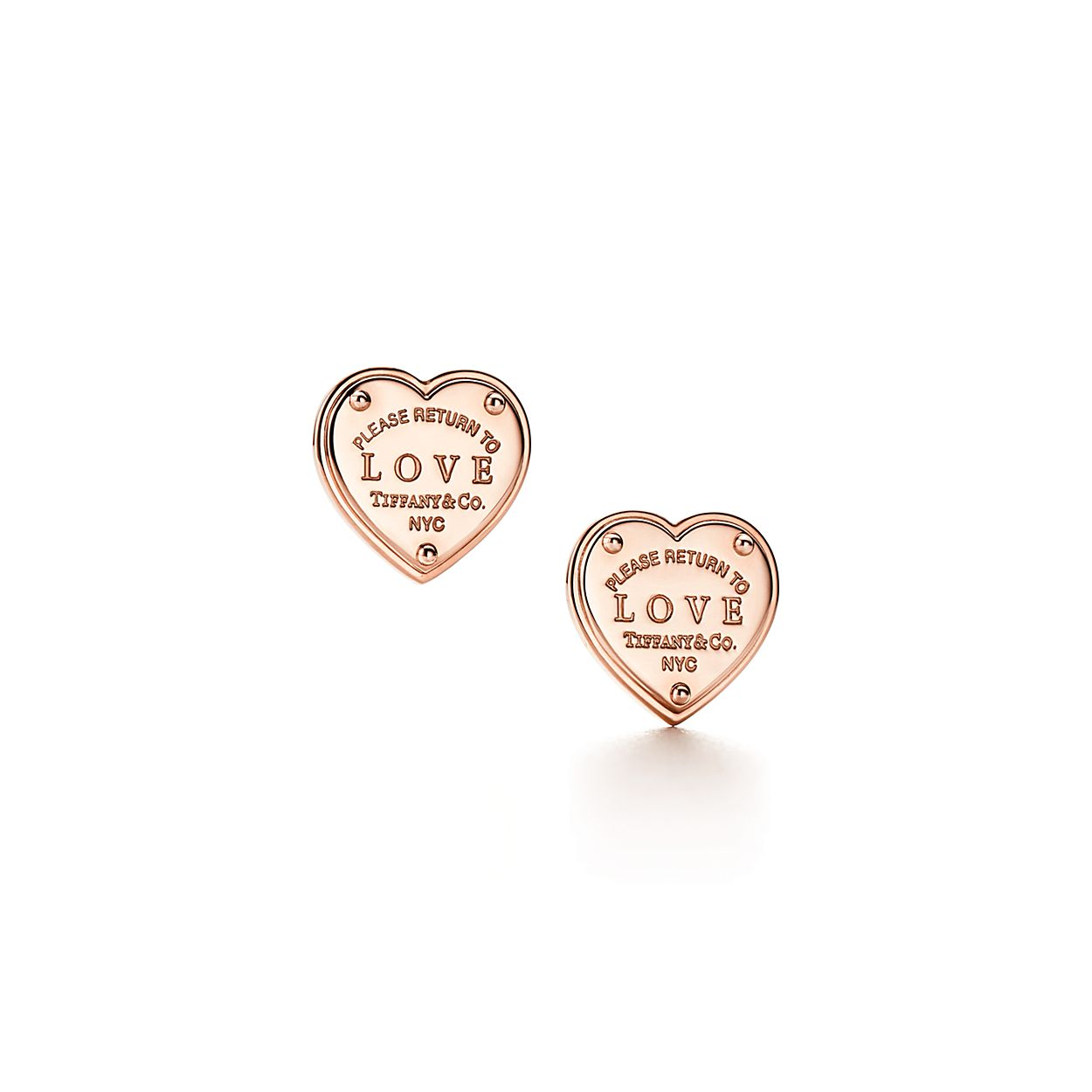 Return To Tiffany Love Earrings