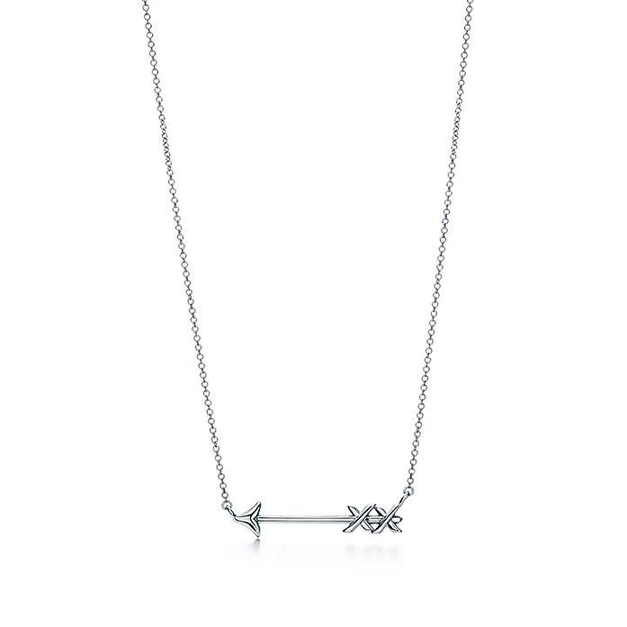 245f320bc Paloma's Graffiti arrow pendant in sterling silver, small. | Tiffany ...