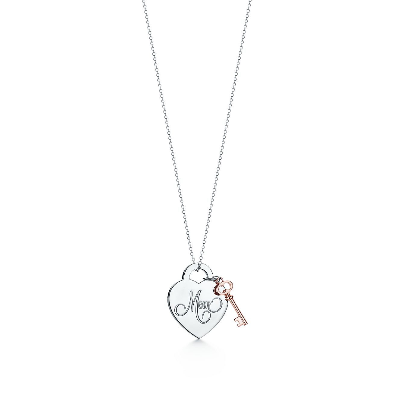 Tiffany Charms Mum heart tag in sterling silver, medium Tiffany & Co.