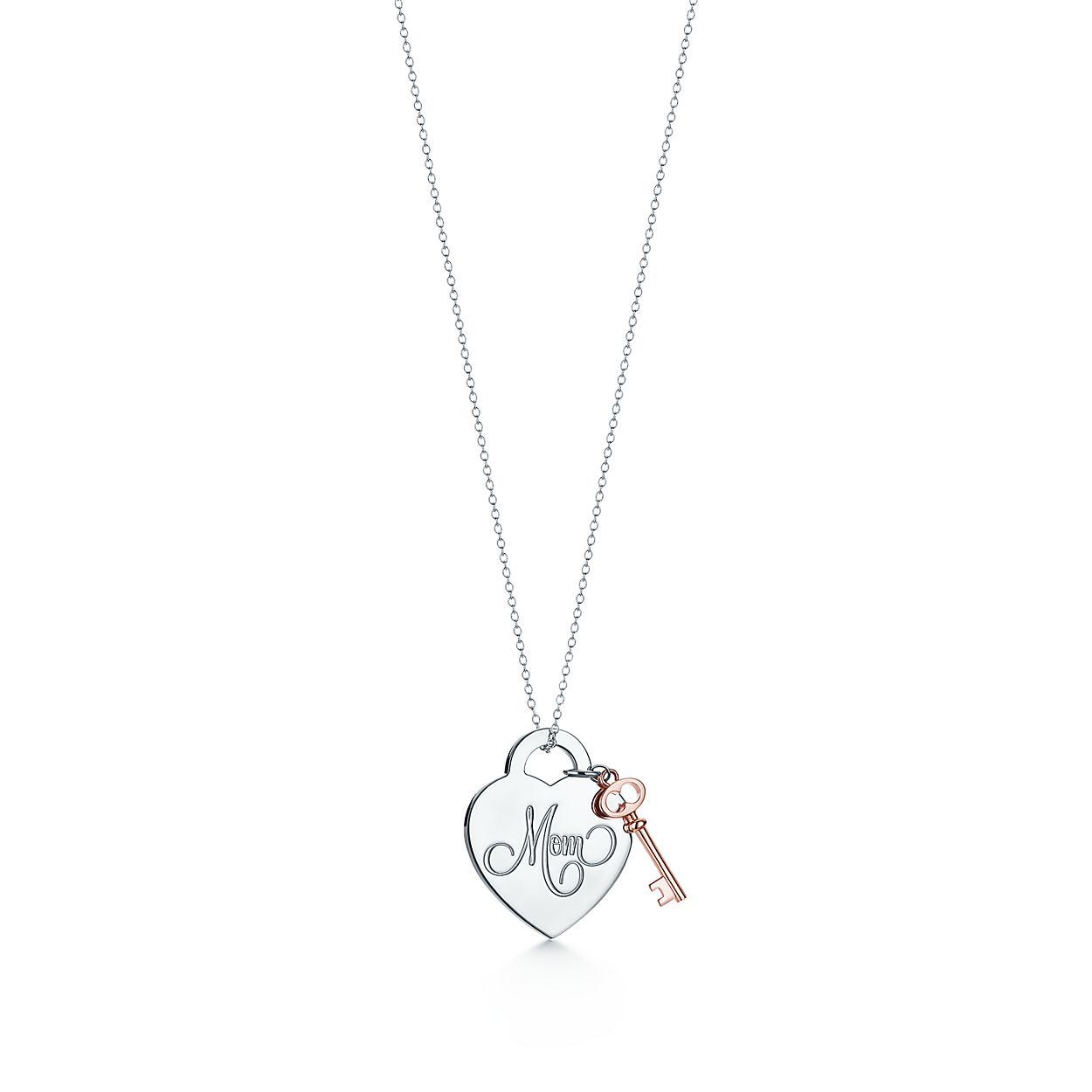 key and handcuffkey s products plated enreverie n pendant silver handcuffs heart necklaces iyd necklace