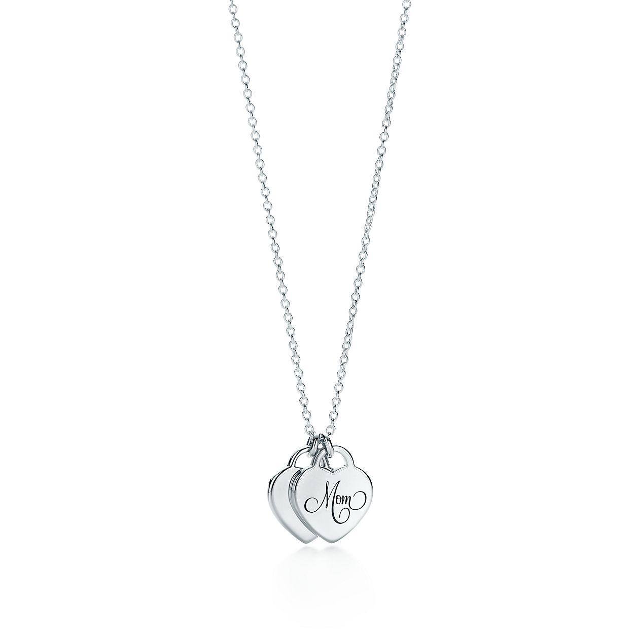 Tiffany Charms Mom tag in sterling silver, medium Tiffany & Co.