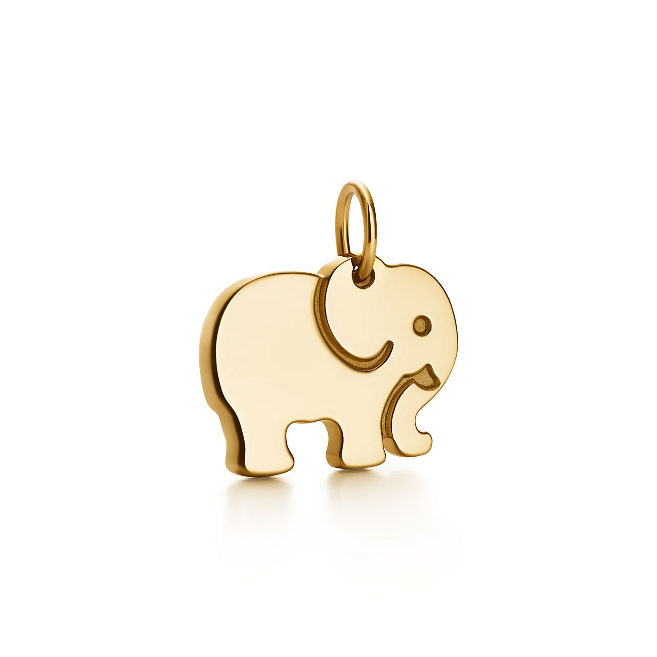Tiffany Charms elephant never forgets charm in 18k gold Tiffany & Co.