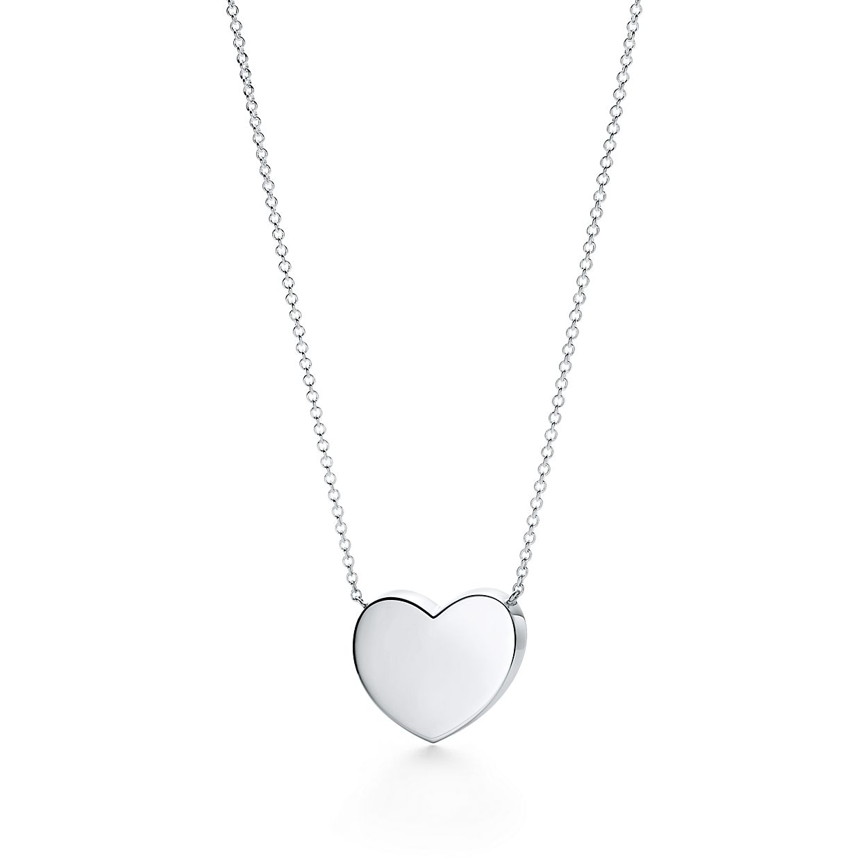 Excellent Paloma Picasso® Modern Heart pendant in sterling silver. | Tiffany  FG88