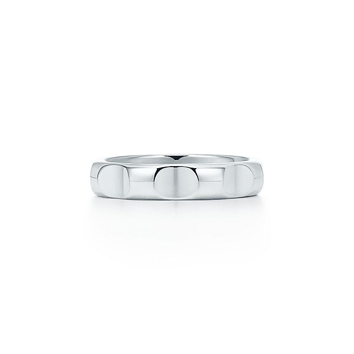 18e5f9383 Paloma's Groove™ narrow ring in sterling silver, 4 mm wide ...