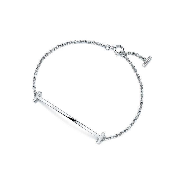 b0c3521a8 Tiffany T smile bracelet in sterling silver, medium. | Tiffany & Co.