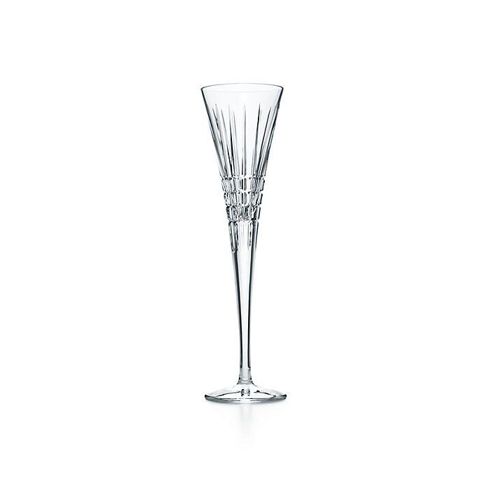 6c4e1769553 Plaid trumpet flute in crystal. | Tiffany & Co.