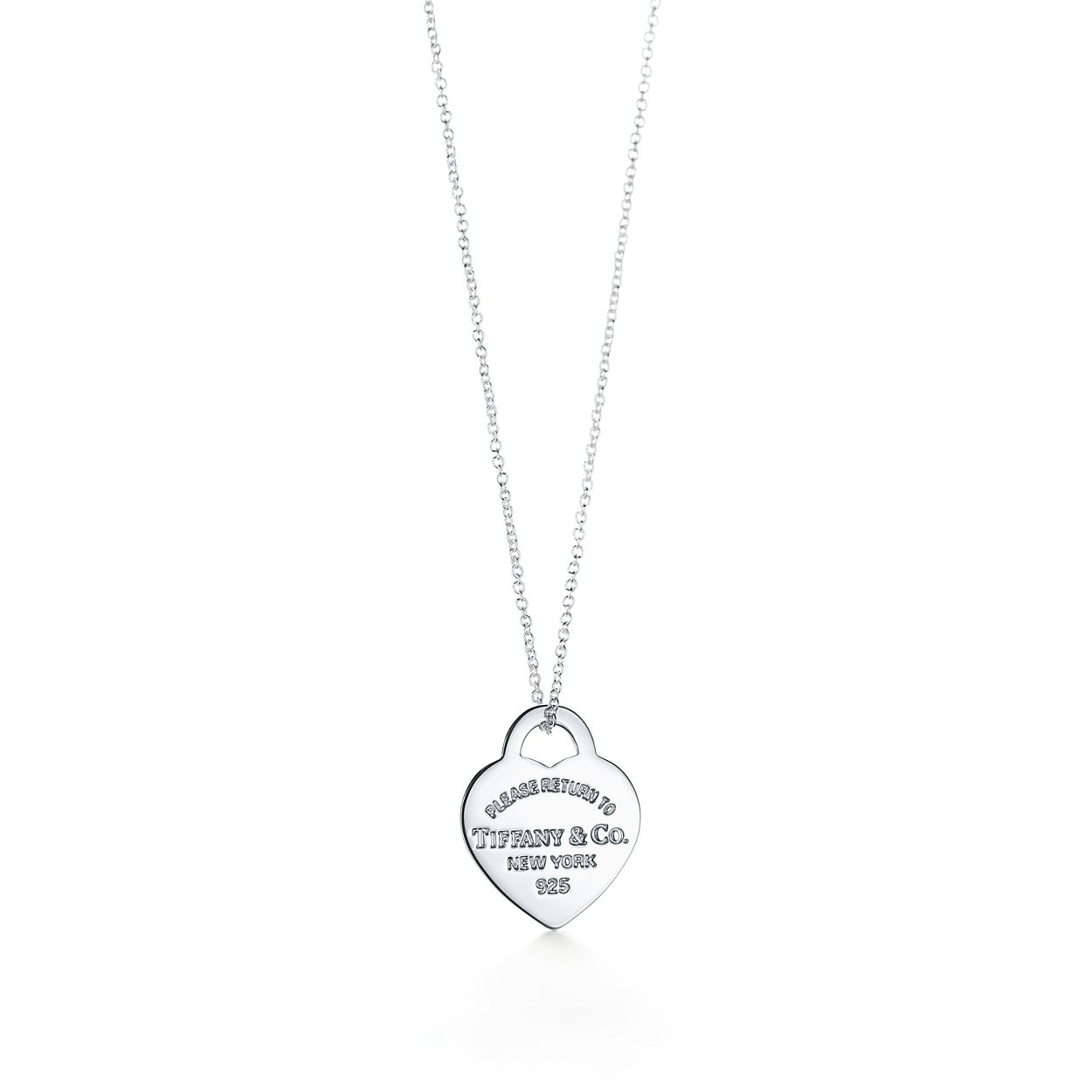 a0c6950e2b Return to Tiffany™ heart tag pendant in sterling silver