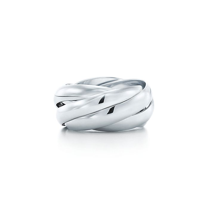 759a90c3f Paloma's Melody five-band ring in sterling silver. | Tiffany & Co.