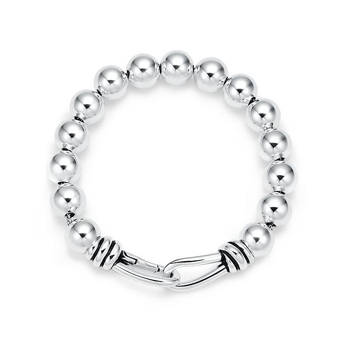 1b781fbb7 Paloma Picasso® Knot bead bracelet in sterling silver, medium ...