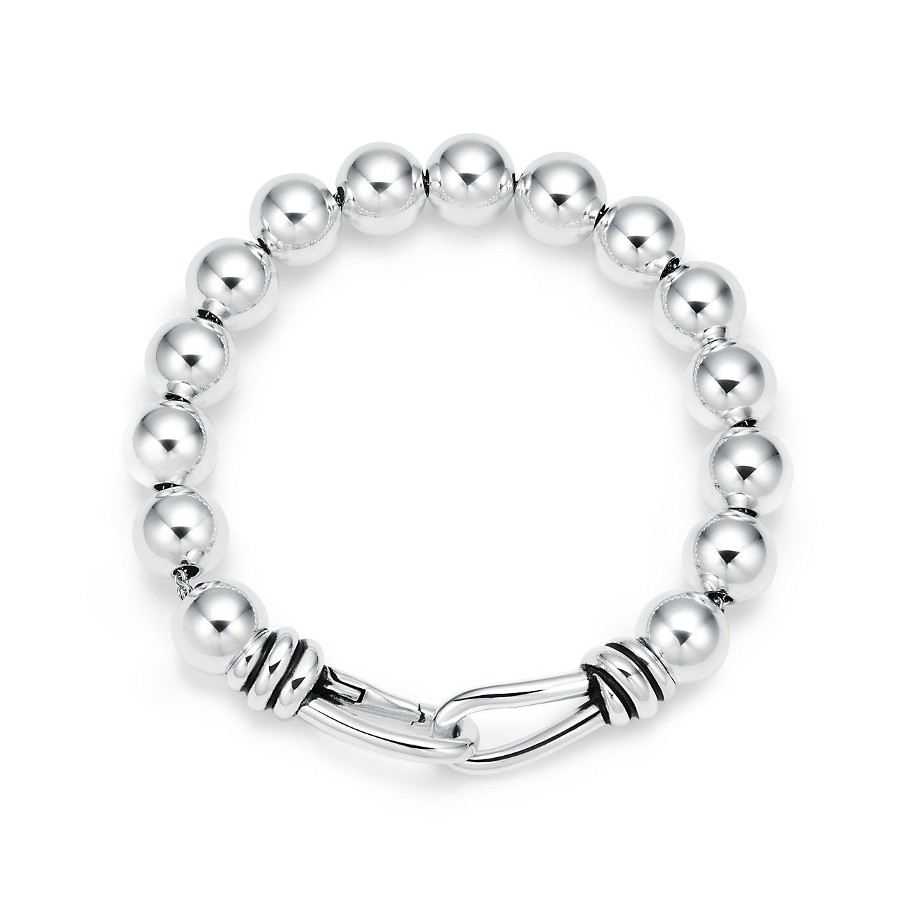 Paloma Picasso® Knot bead bracelet in sterling silver 42e51879c029