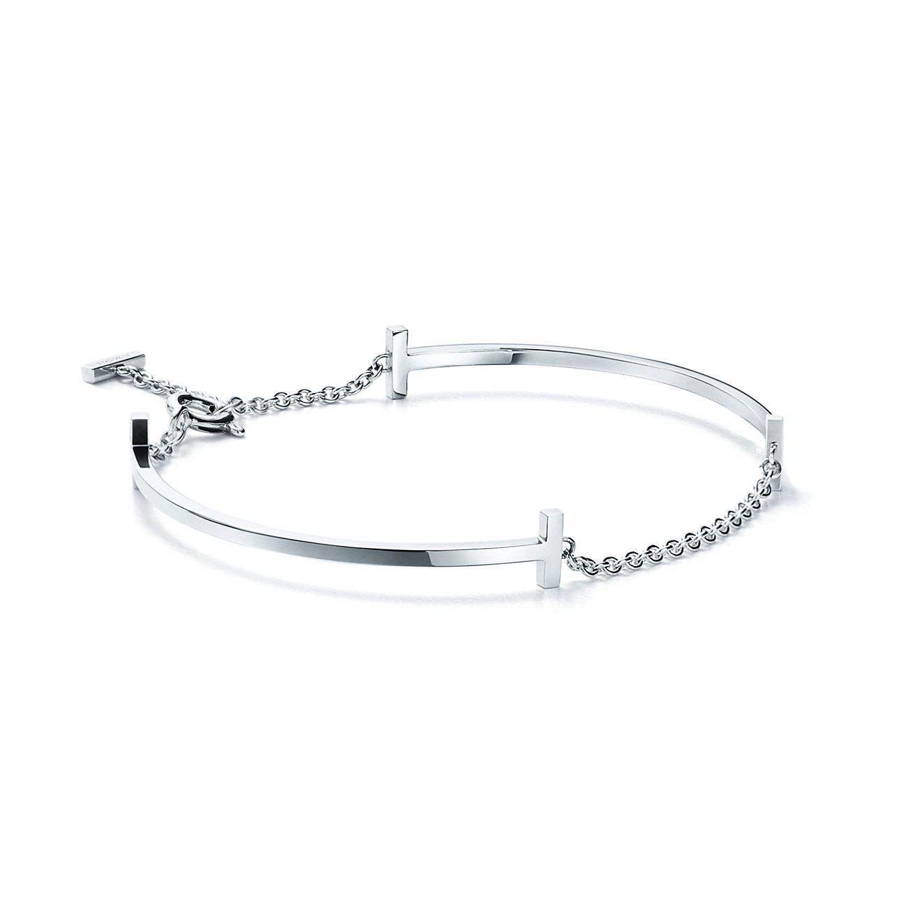 Tiffany T Double Smile Bracelet