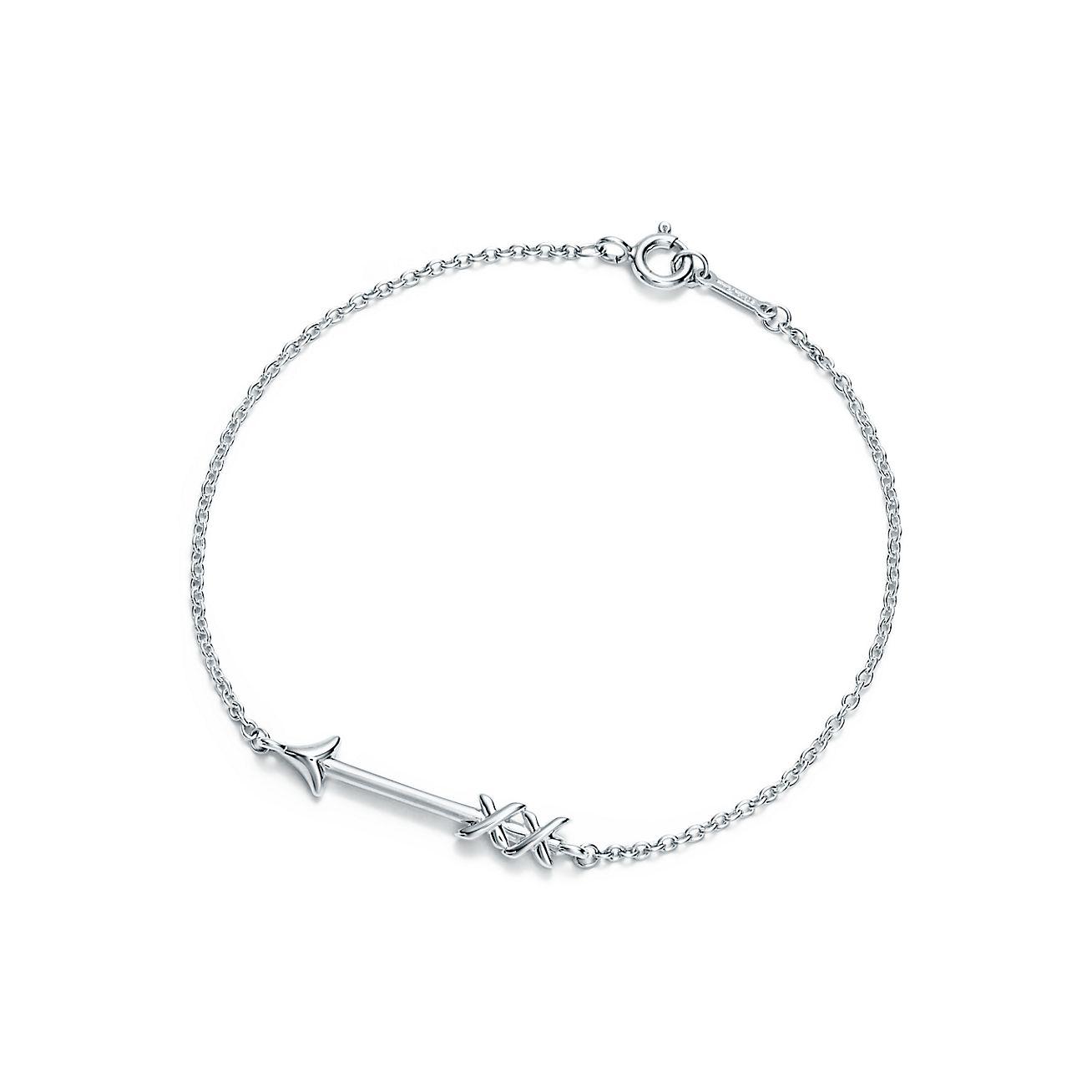 Palomas Graffiti arrow bracelet in sterling silver, medium Tiffany & Co.