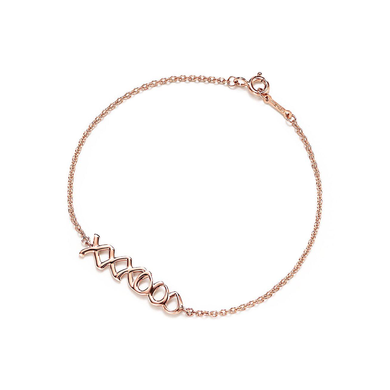 Palomas Graffiti love bracelet in 18k gold, medium Tiffany & Co.
