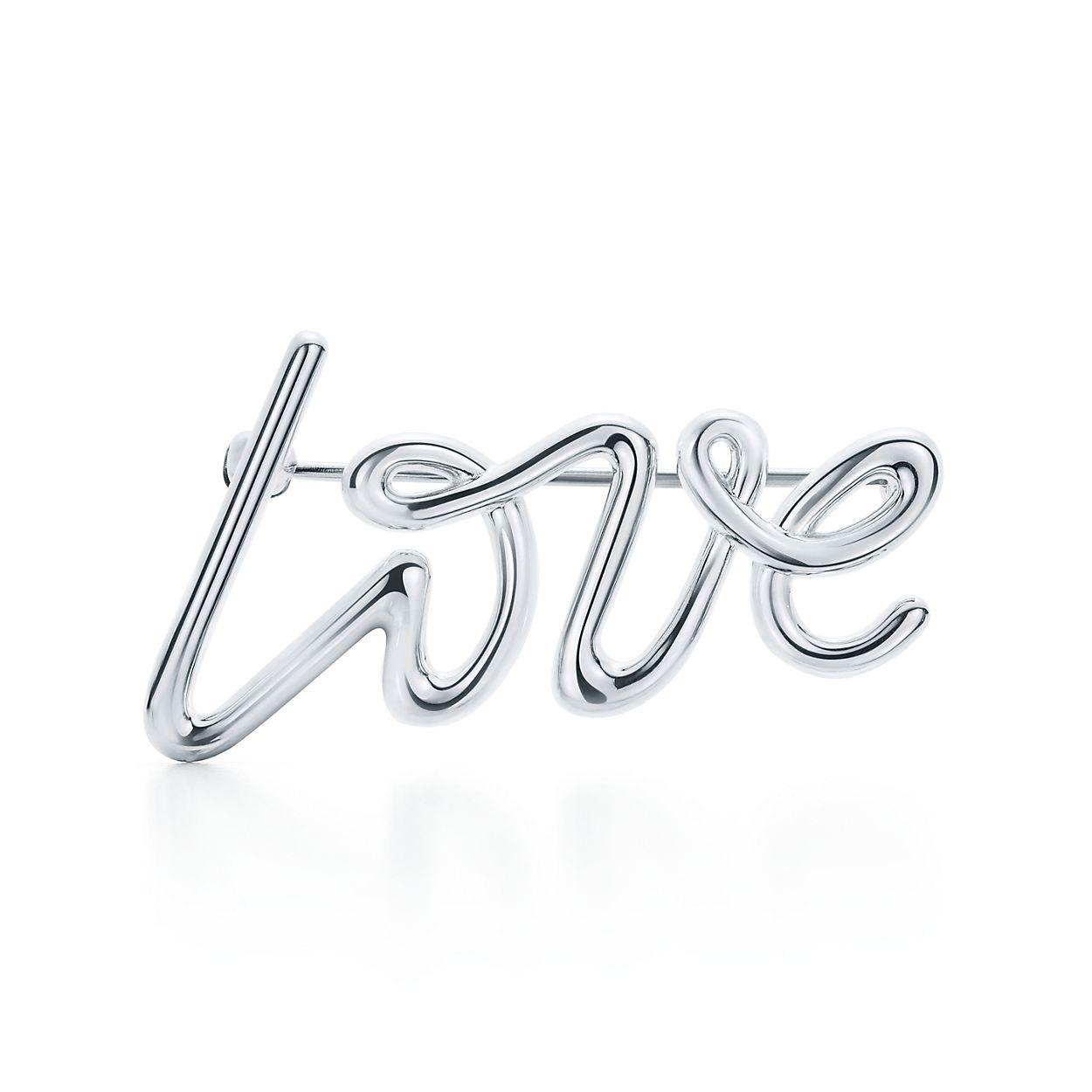 Palomas Graffiti love brooch in sterling silver Tiffany & Co. onWot