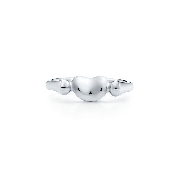 62bb5a0c2 Elsa Peretti® Bean Design® ring in sterling silver, mini.   Tiffany ...