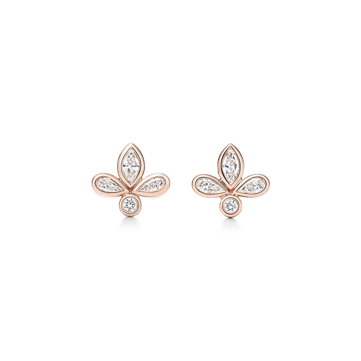 Tiffany Fleur De Lis Earrings