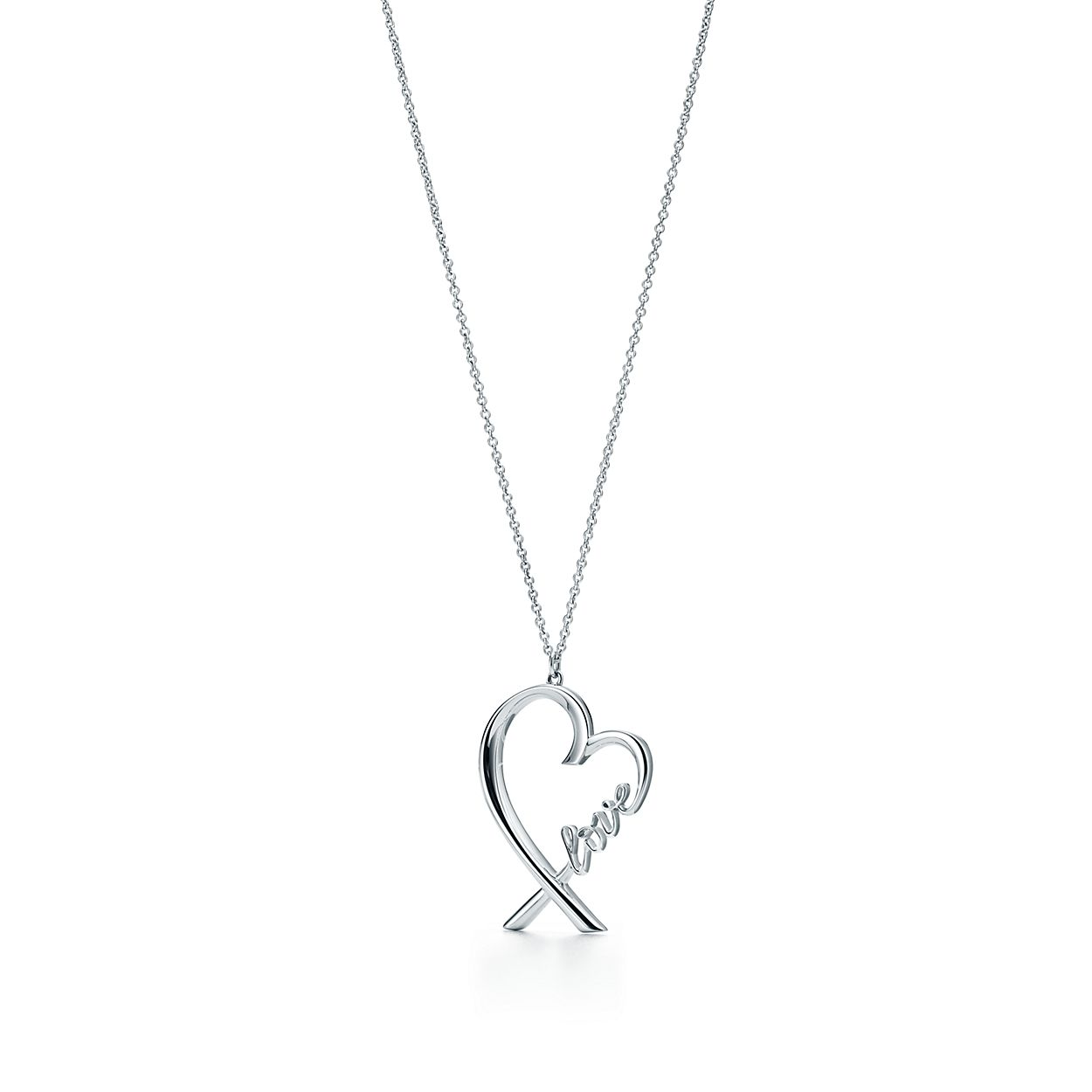 Paloma picasso loving heart love pendant in sterling silver paloma picassoloving heartbrlove pendant aloadofball Images