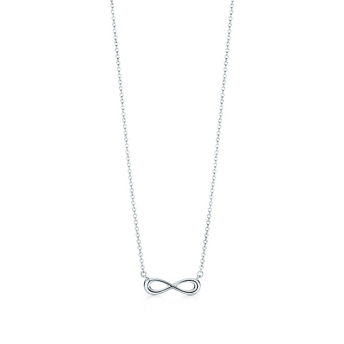 31744f924 Tiffany Infinity pendant in sterling silver, mini. | Tiffany & Co.