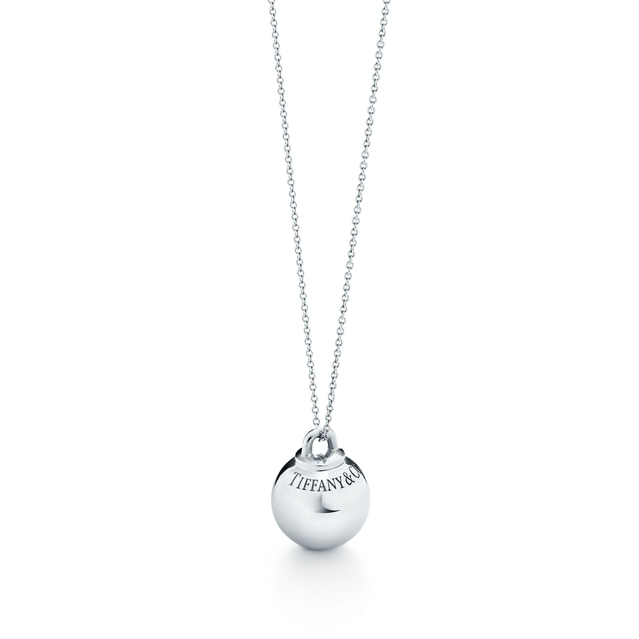 Tiffany hardwear ball pendant in sterling silver tiffany co tiffany hardwearball pendant aloadofball Image collections