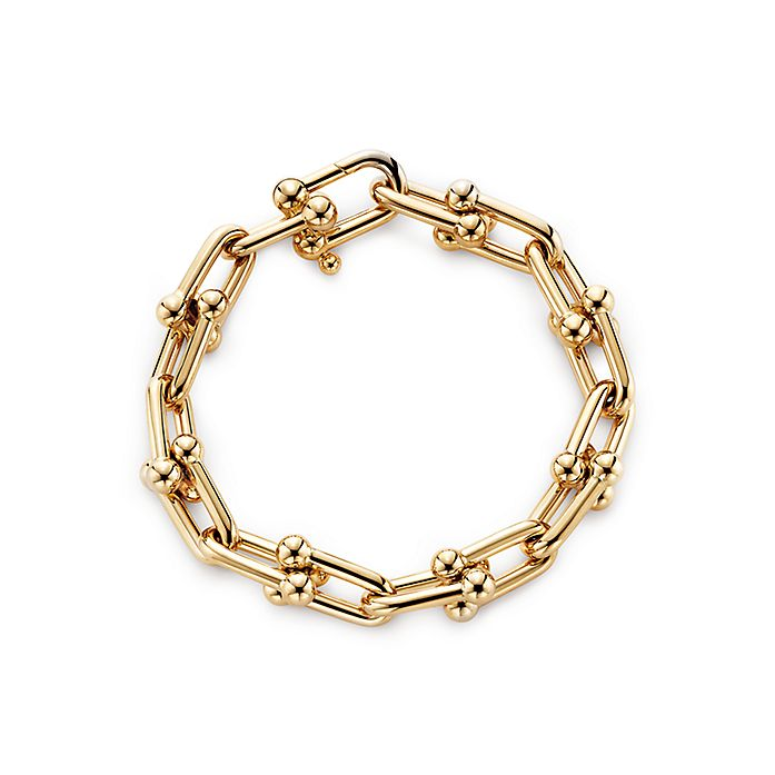 d437ca299 Tiffany City HardWear link bracelet in 18k gold, medium. | Tiffany & Co.