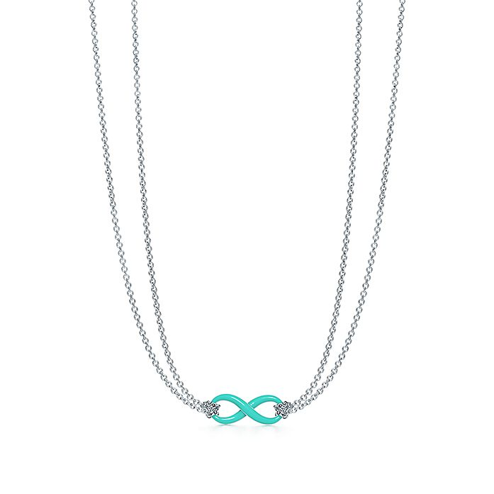 8eb127ec7 Sterling Silver Infinity Symbol Pendant in Tiffany Blue® | Tiffany & Co.