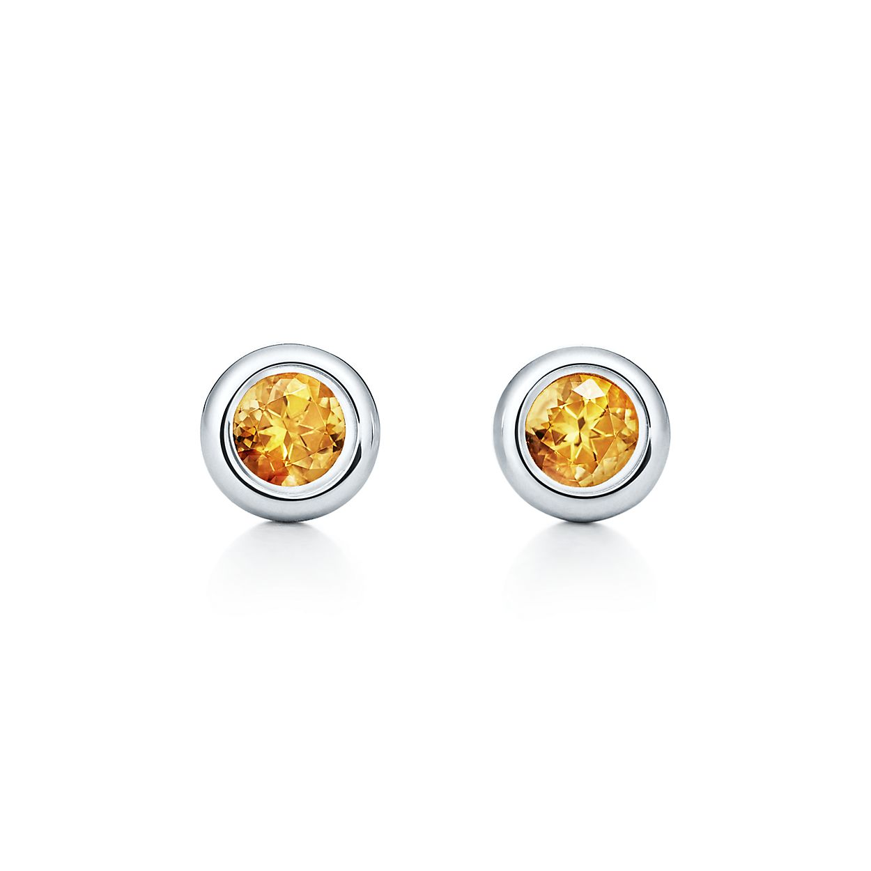 Elsa Peretti Color by the Yard earrings in sterling silver with citrines Tiffany & Co. DpUtXD