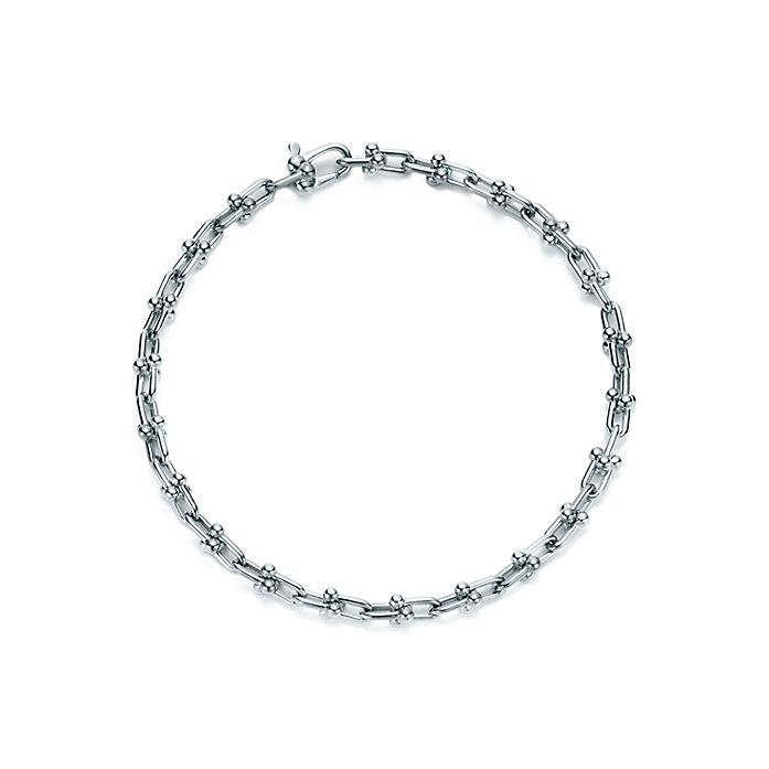 bf492500d Tiffany HardWear micro link bracelet in sterling silver, medium ...