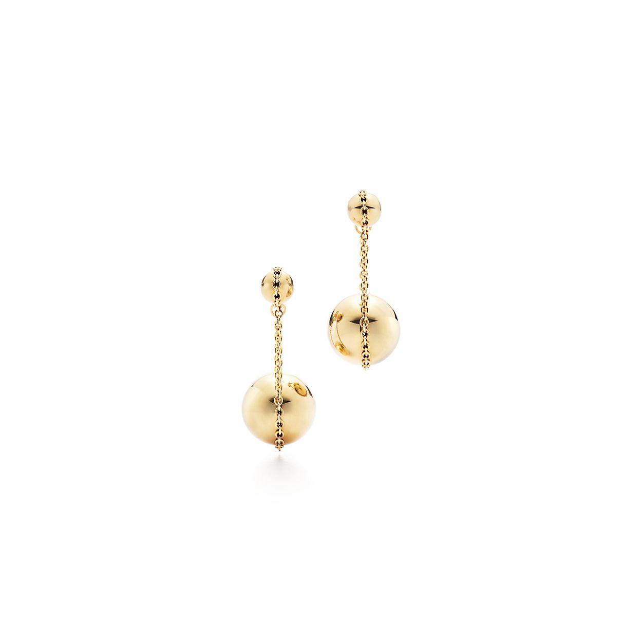 Tiffany Hardwear Double Drop Earrings