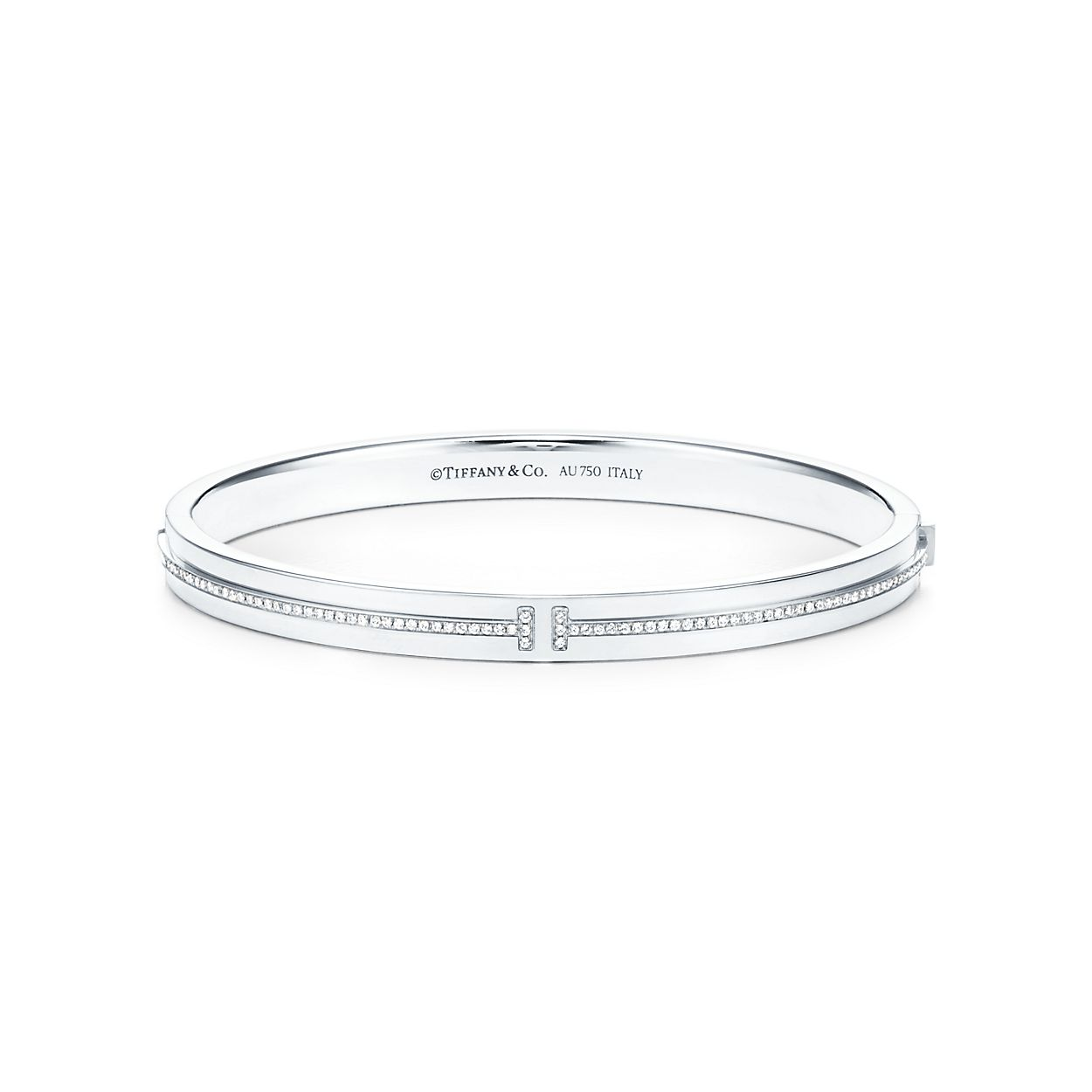 sterling bracelet bangle in oval hinged silver