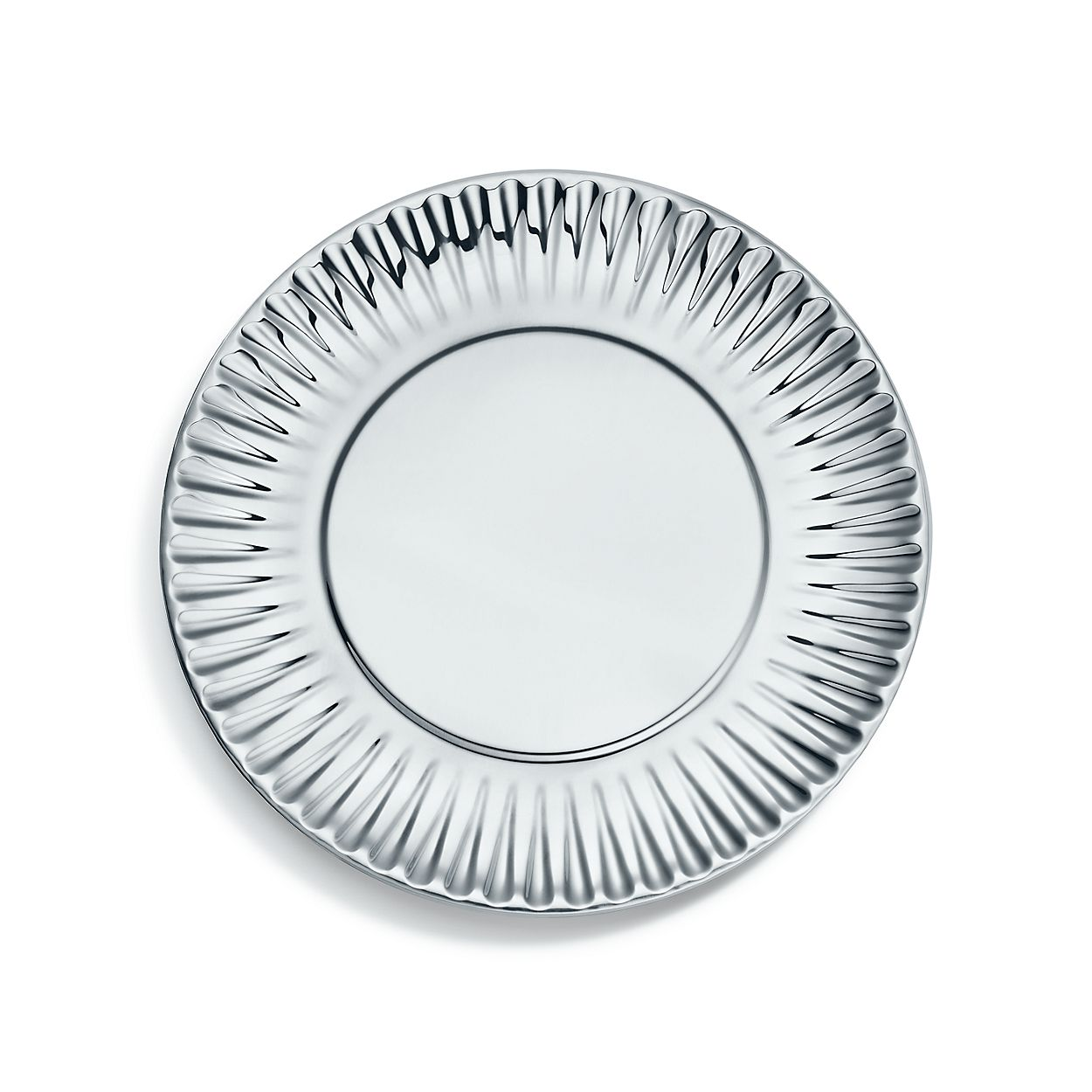 shop everyday objects sterling silver paper plate tiffany co
