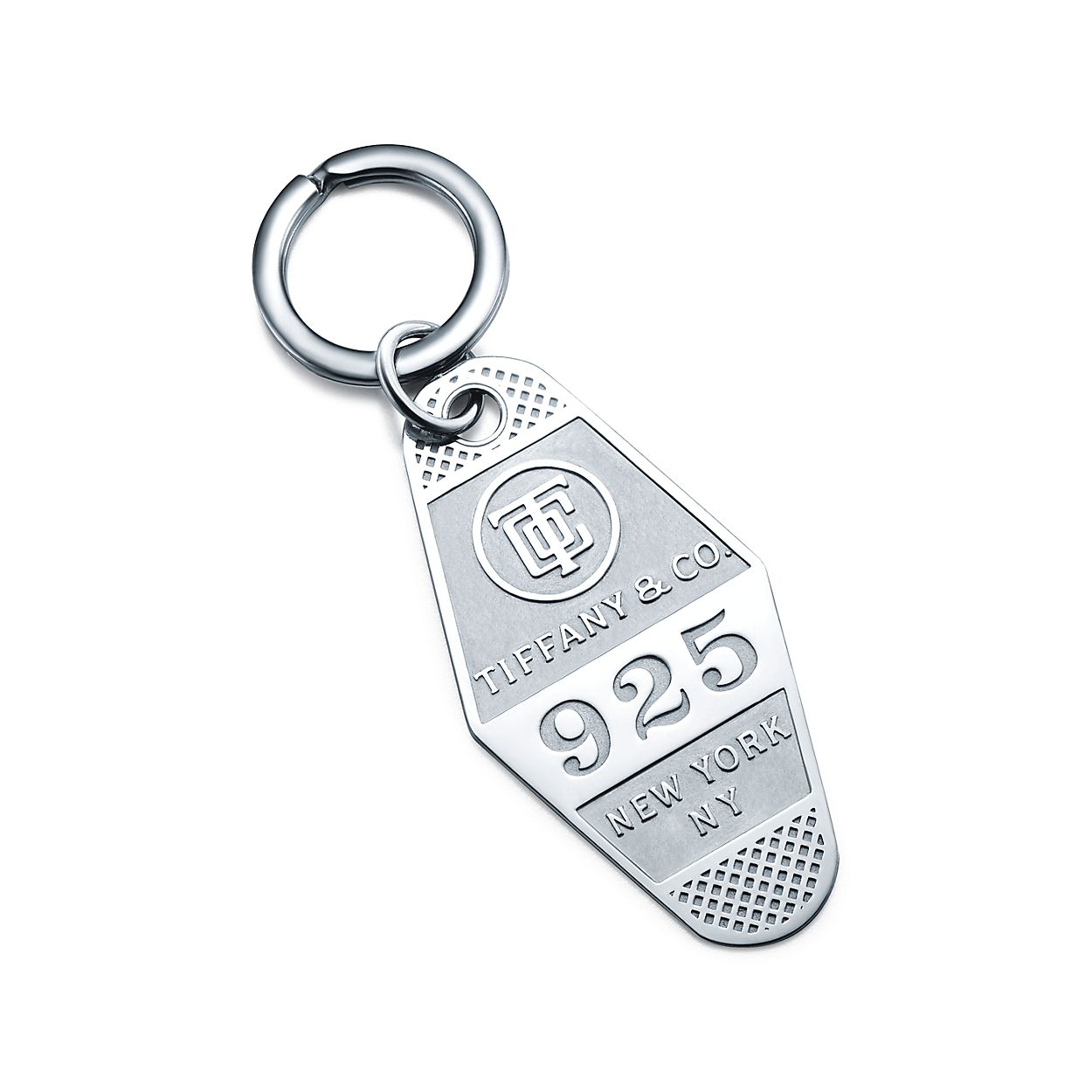 Hotel key ring in sterling silver.  c318fe3e3a