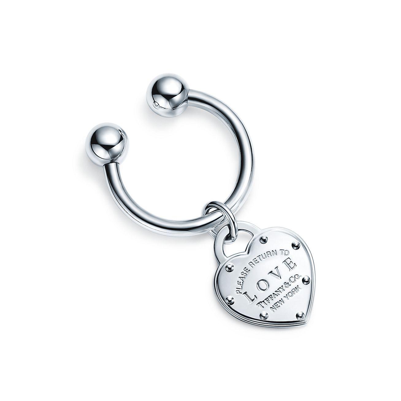Return to Tiffany Love key ring in sterling silver Tiffany & Co.