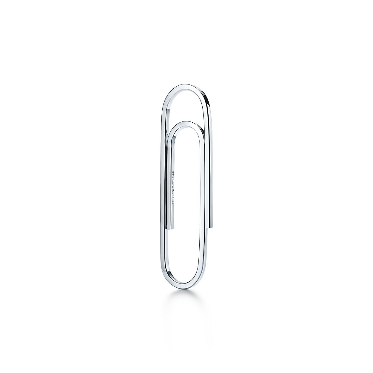 paper clip bookmark in sterling silver tiffany co