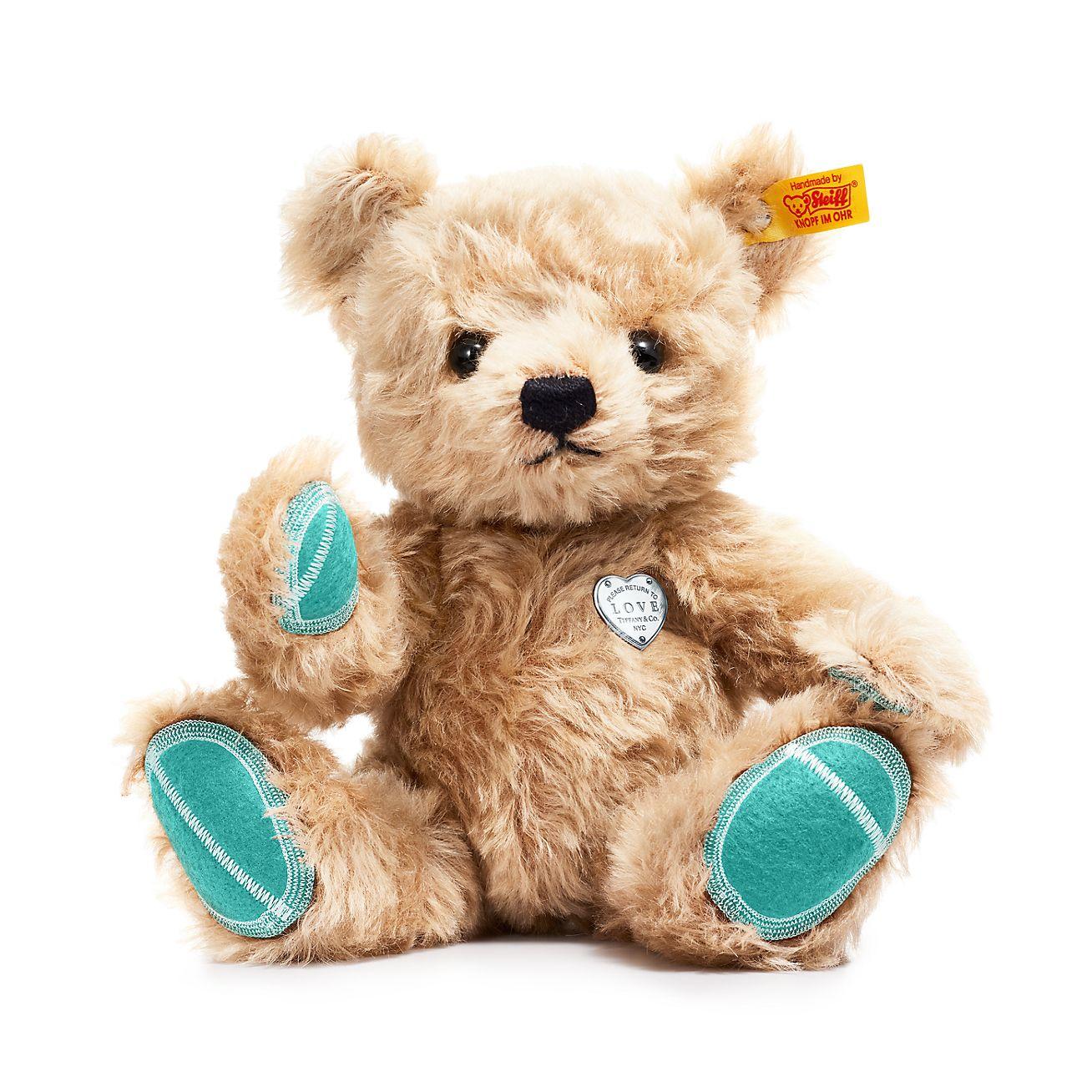 tiffany x steiff return to tiffany love teddy bear in mohair