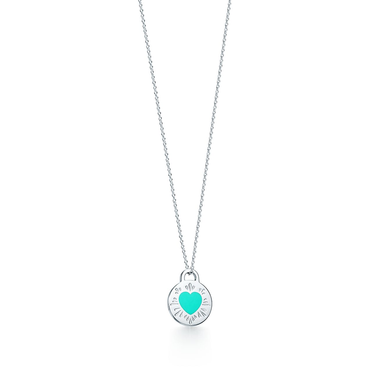 Return to Tiffany circle pendant in sterling silver Tiffany & Co.