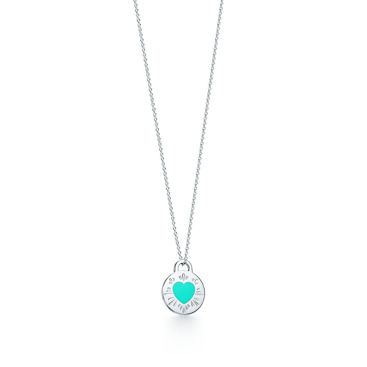 Return to Tiffany circle pendant in sterling silver Tiffany & Co. oJLrZl5