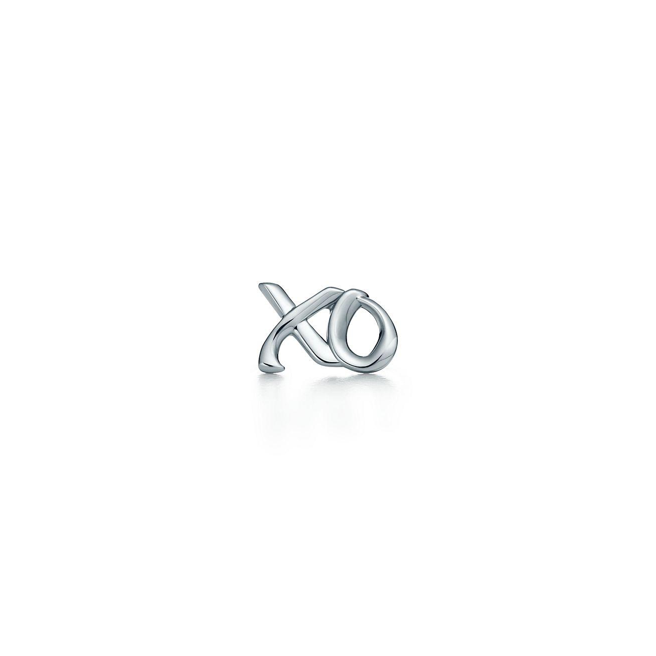 Palomas Graffiti love & kisses single earring in sterling silver Tiffany & Co.