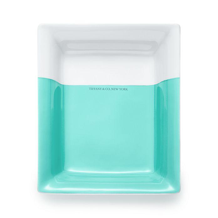 9d4973e388 Color Block vide poche in porcelain.   Tiffany & Co.