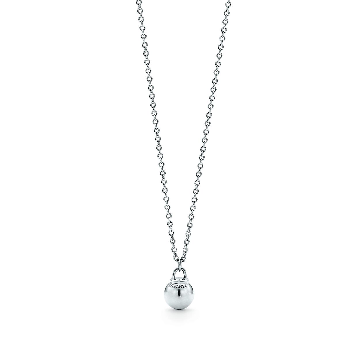 Tiffany hardwear ball pendant in sterling silver tiffany co tiffany hardwearball pendant tiffany hardwearball pendant aloadofball Images