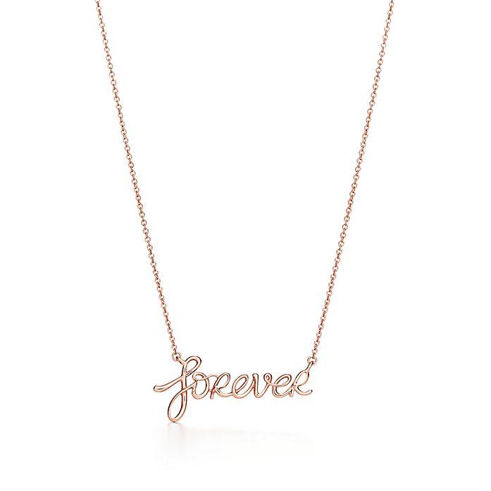 673c58a0e Paloma's Graffiti forever pendant in 18k rose gold. | Tiffany & Co.