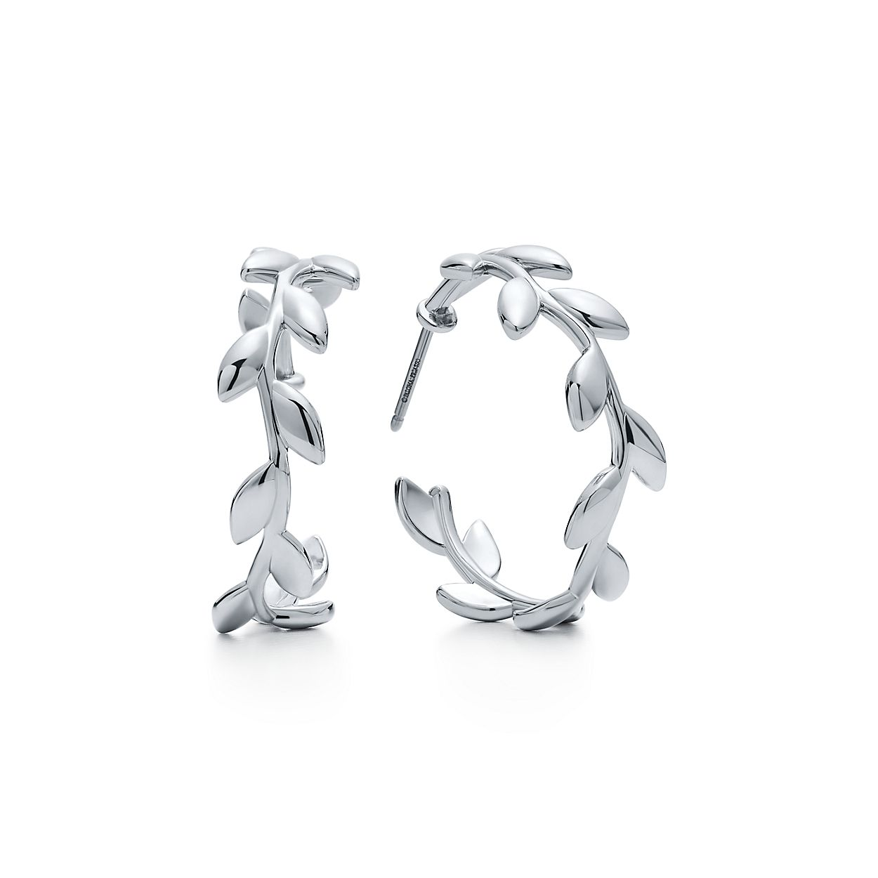 zoom hoop jewellery sterling silver john greed medium earrings women