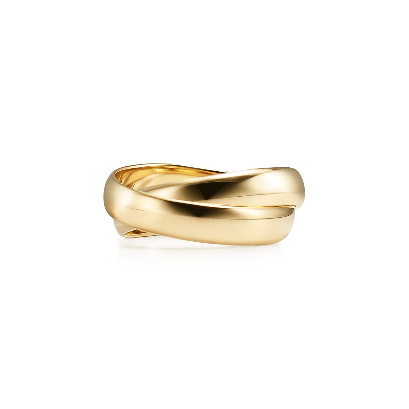 Palomas Melody two-band ring in 18k gold - Size 8 Tiffany & Co.