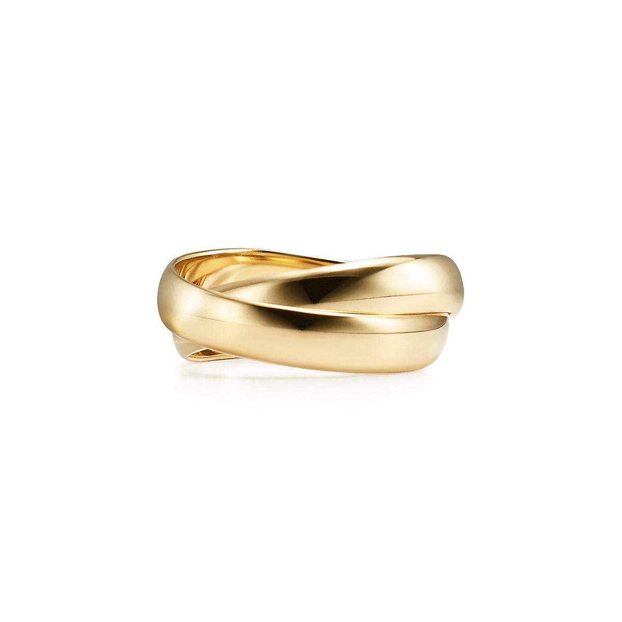 Palomas Melody two-band ring in 18k gold - Size 8 Tiffany & Co. JItocjte2
