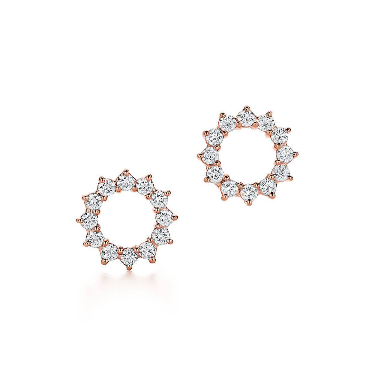 Open Circle Earrings