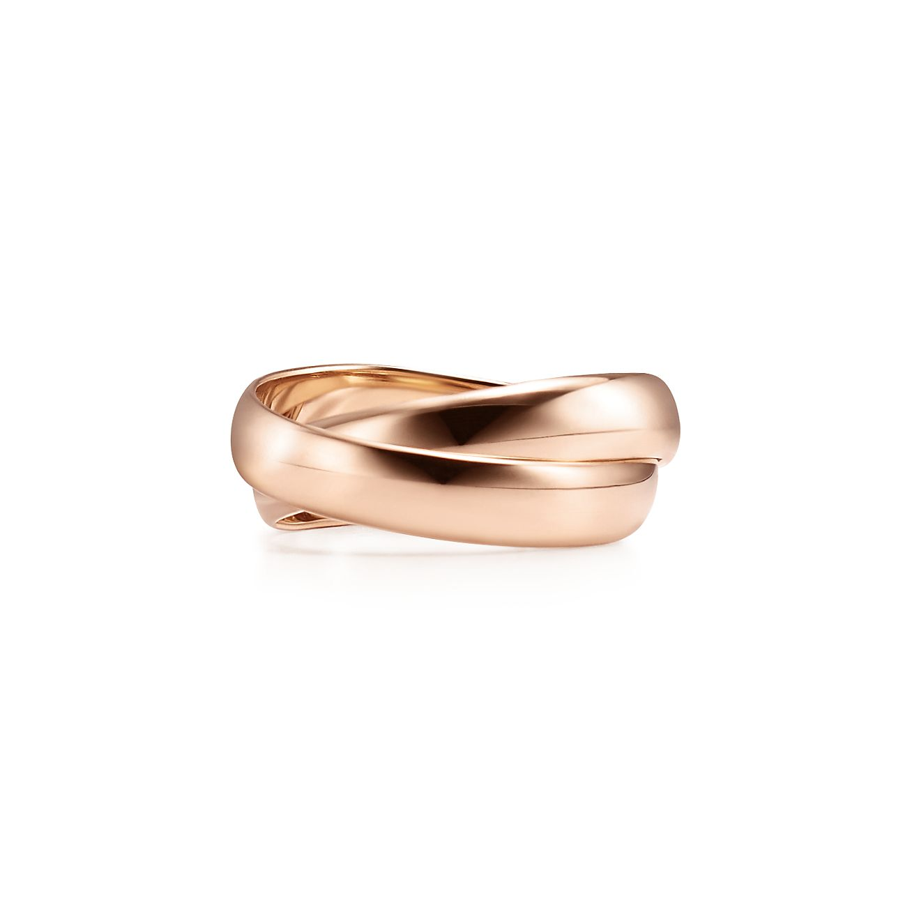 Palomas Melody two-band ring in 18k rose gold - Size 4 Tiffany & Co.