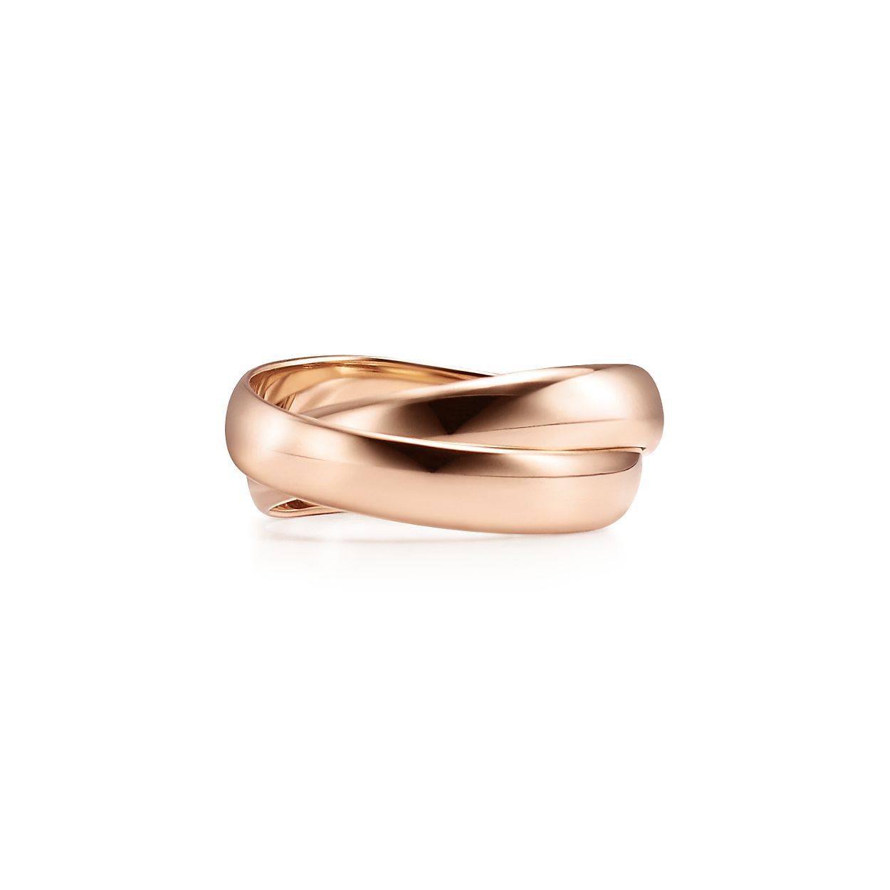 Palomas Melody two-band ring in 18k rose gold - Size 4 Tiffany & Co. pZrPh