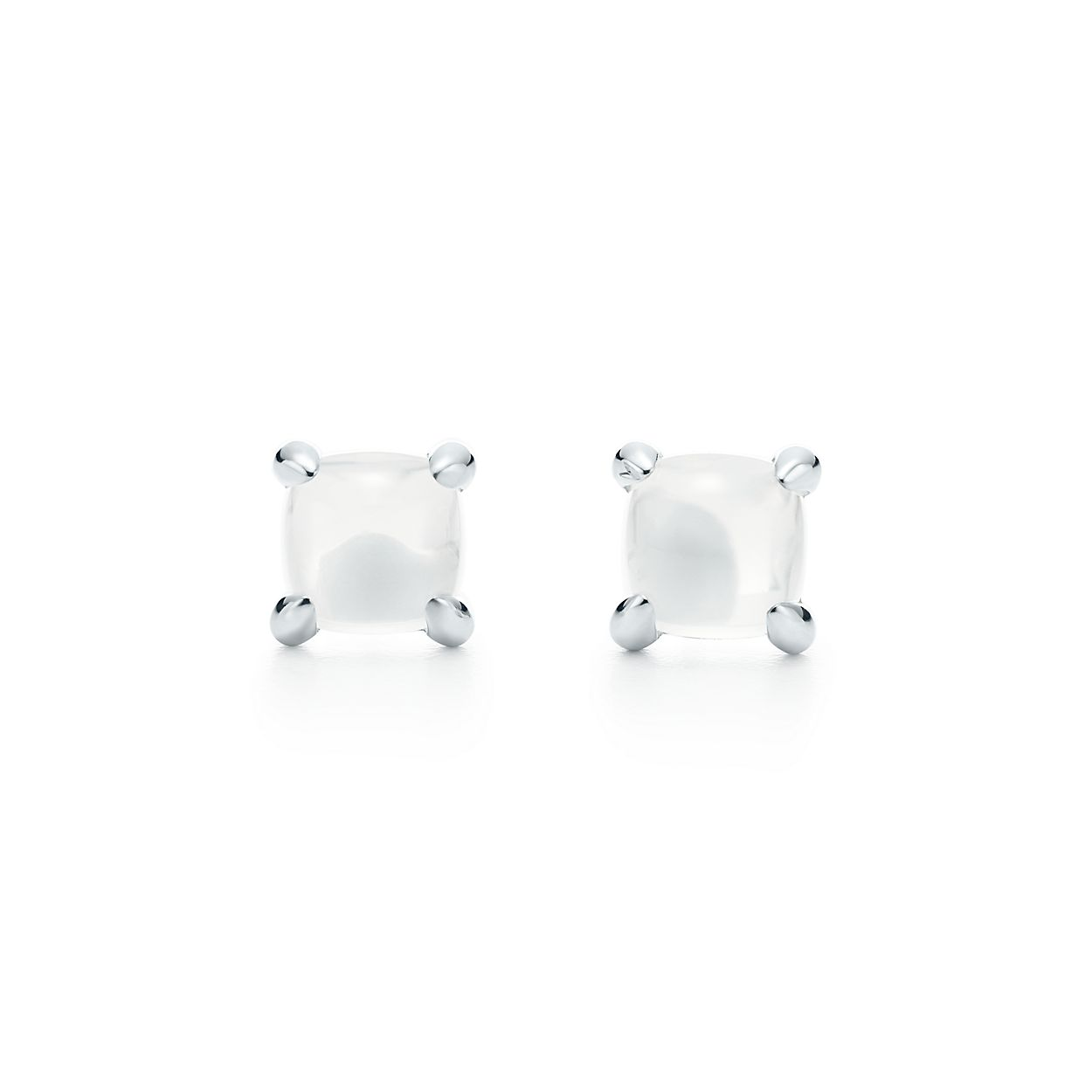 Palomas Sugar Stacks earrings in sterling silver with milky quartz Tiffany & Co. AtkcF9vFb