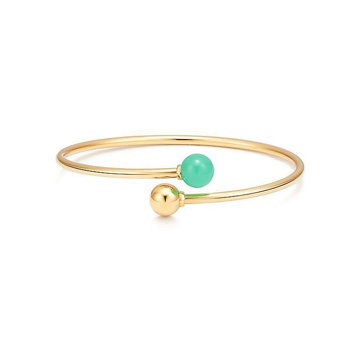 3ffa209d8 Tiffany City HardWear ball bypass bracelet in 18k gold with ...